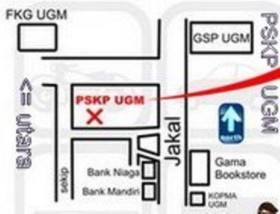 Peta PSKP UGM