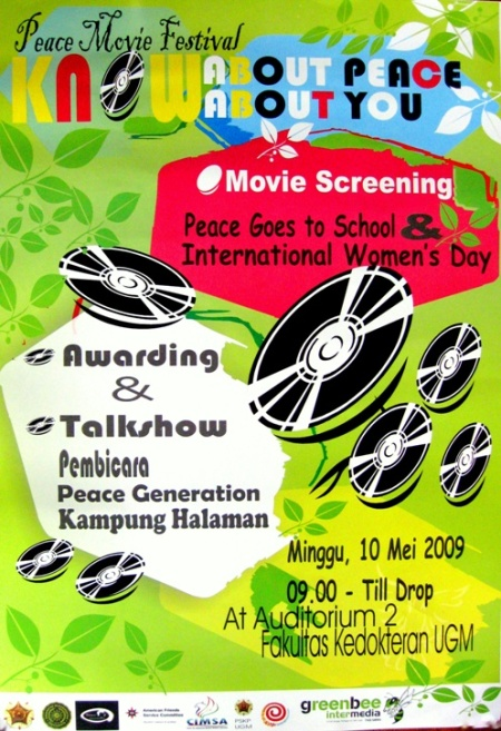 Poster Peace Movie Festival