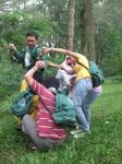 Bermain di hutan Kaliurang