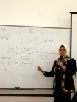 Ibu Siti Musdah Mulya, menyampaikan tentang kesetaraan
